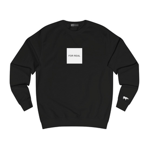 The box sweater black front