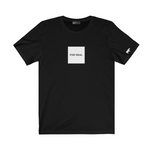 The box tee black front