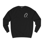 Wave sweater black (part 1) front