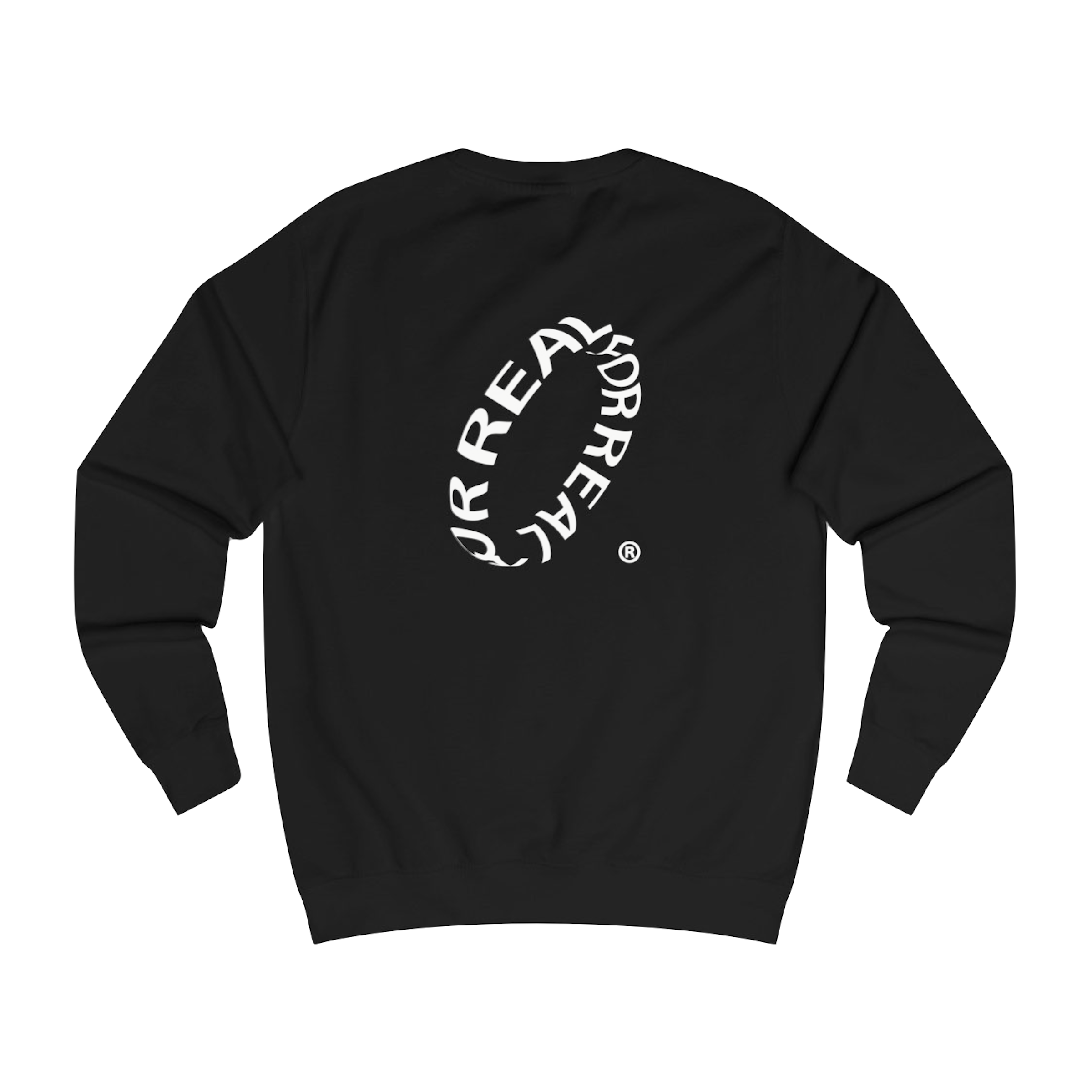 Wave sweater black (part 1) back