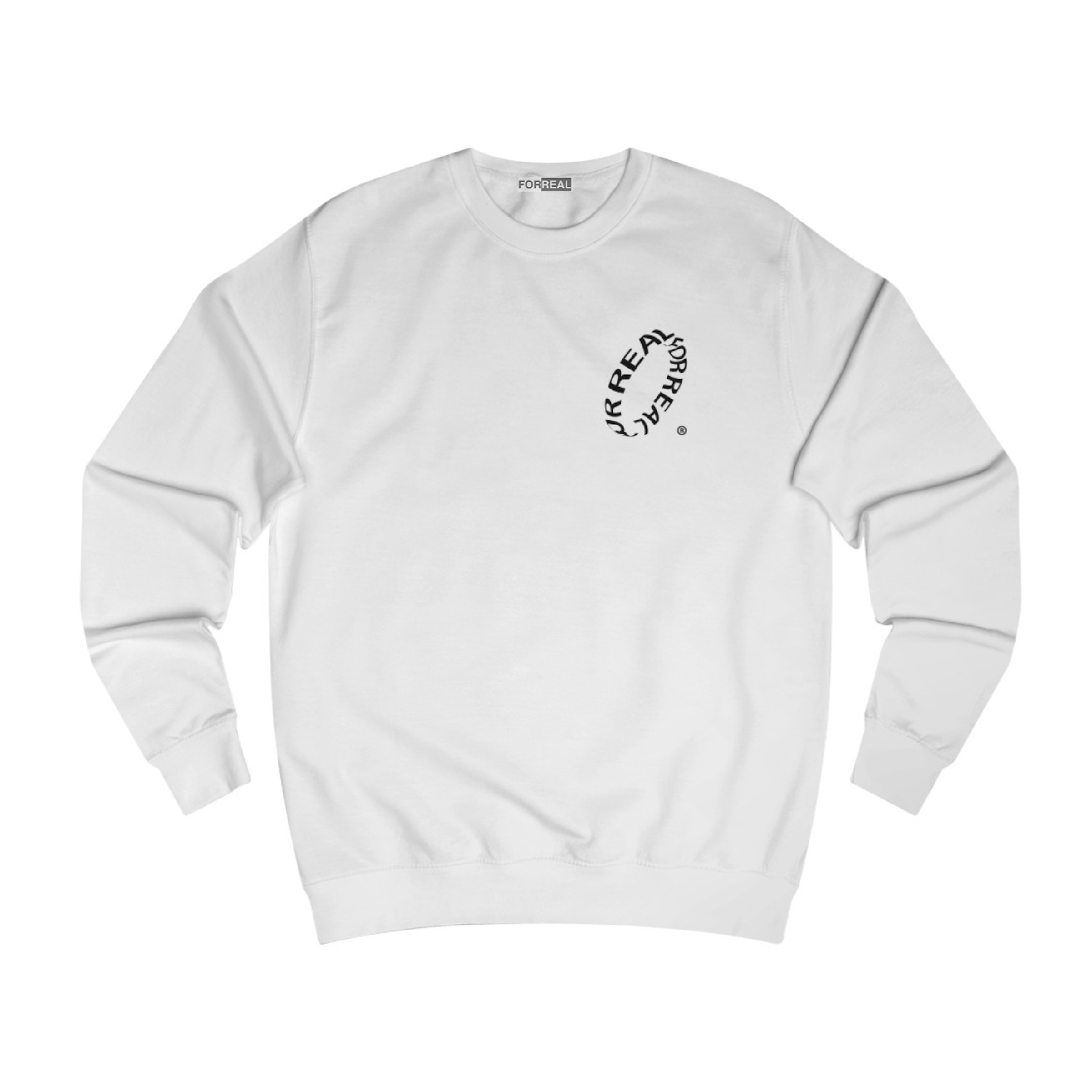 Wave sweater white (part 1) front