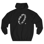 Wave hoodie black (part 1) back