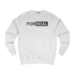 Box logo sweater white front