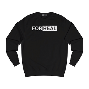 Box logo sweater black front