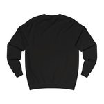 Box logo sweater black back