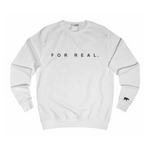 Label sweater white front