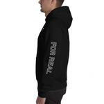 Side hoodie black left man