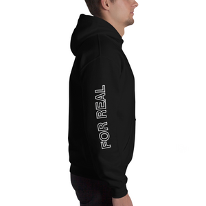 Side hoodie black right man