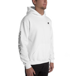 Side hoodie white frontright man