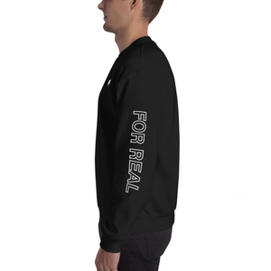 Side sweater black left man