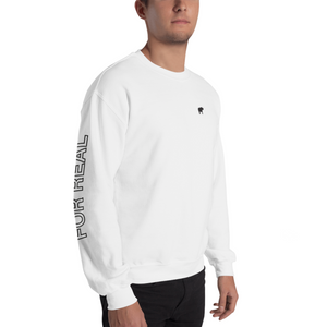 Side sweater white frontright man