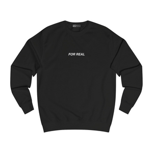 Globe sweater black front