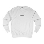 Globe sweater white front
