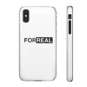 Box logo phone case white
