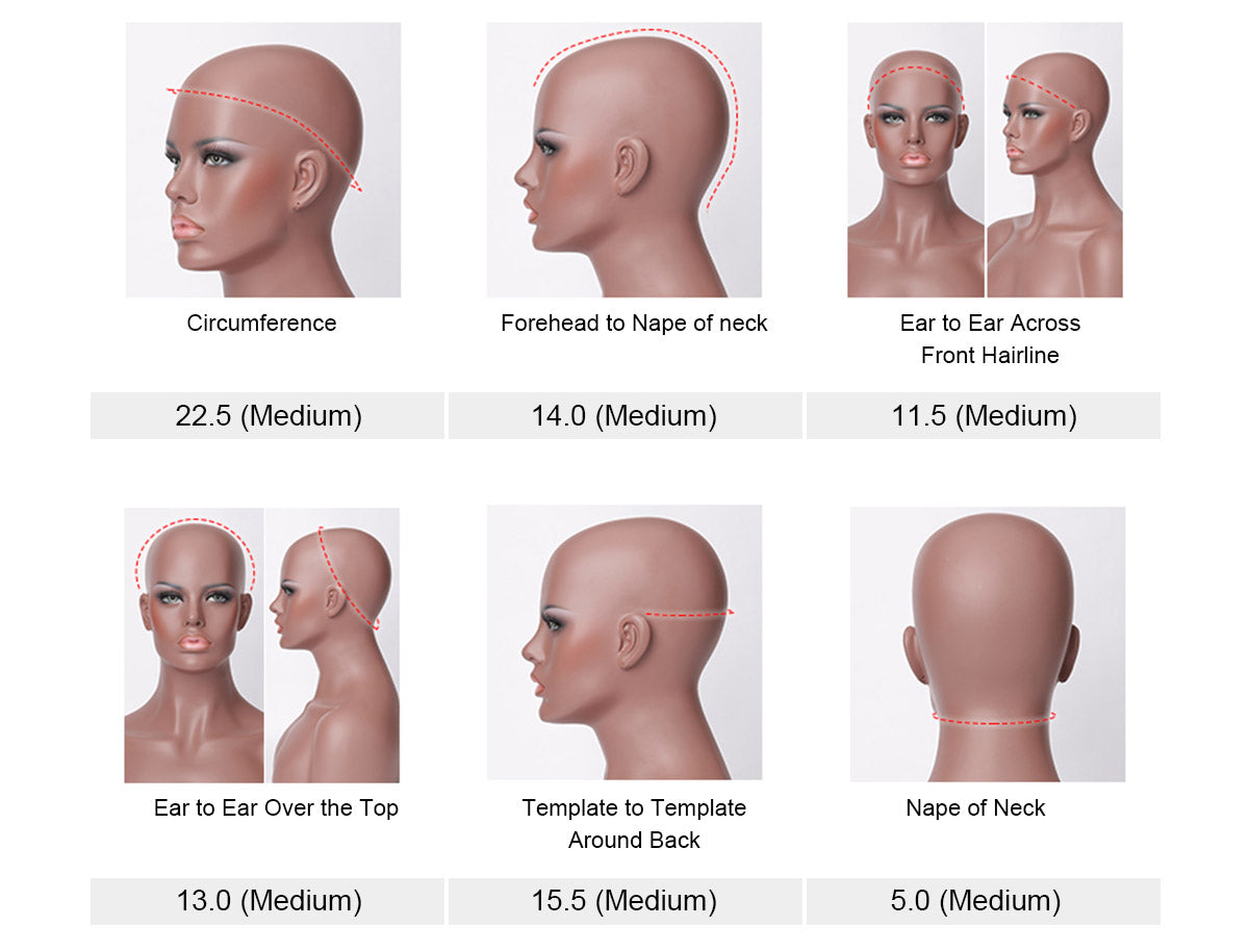 how to measure the cap size of wigs|curlyme hair