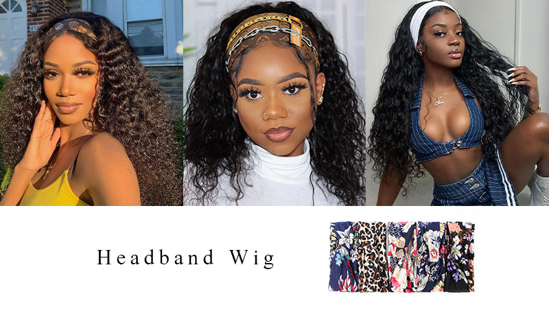 Curlyme headband wigs, the best selling human hair wigs.
