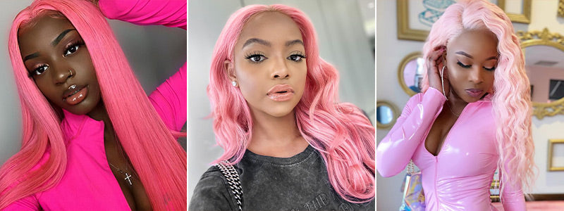 Pink Color Hair