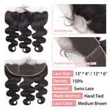 Body wave 13x4/13x6 lace frontal-3