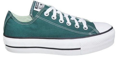 Tênis All Star Converse Chuck Taylor Lift Ox Verde Escuro