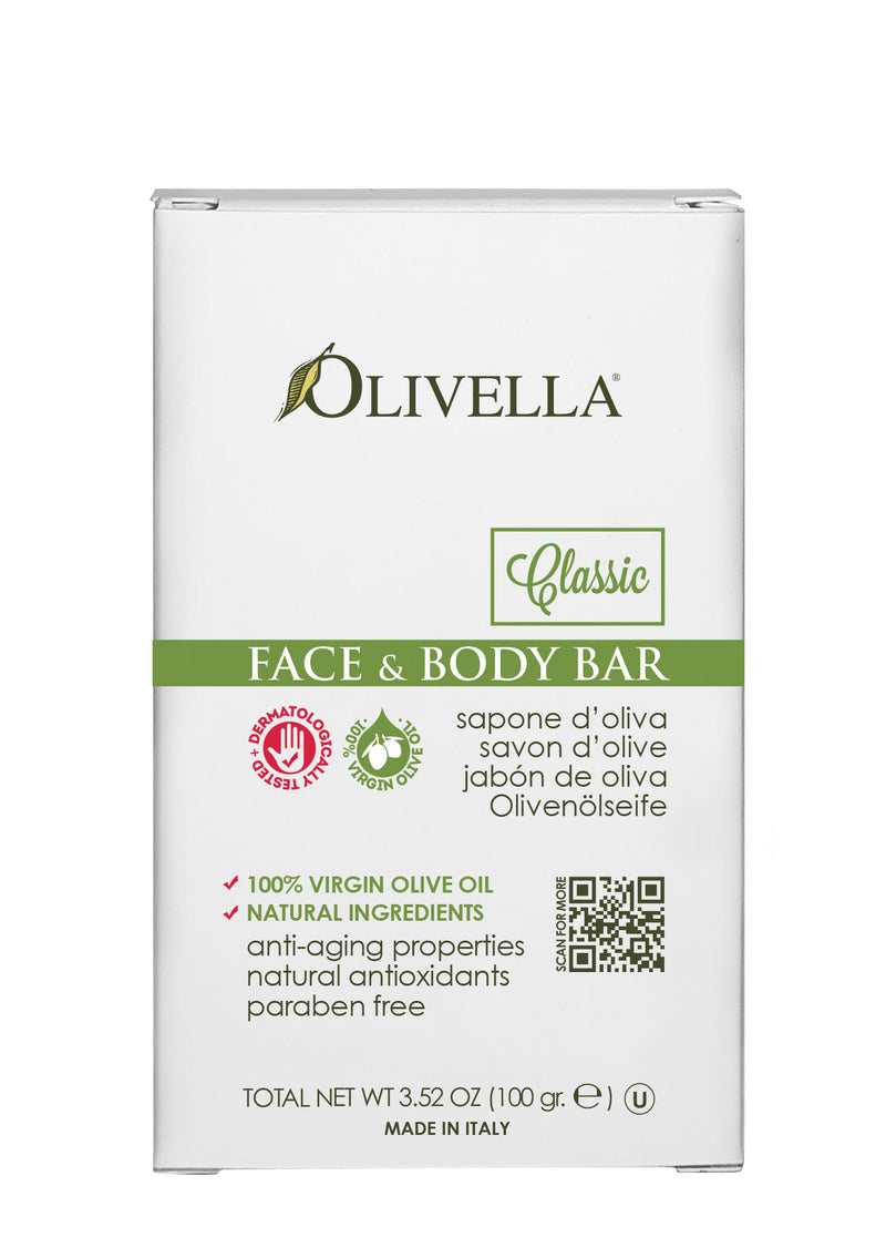 Olivella Bar Soap Classic 3.52 Oz - Olivella