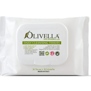 Olivella Daily Cleansing Tissues 30pk