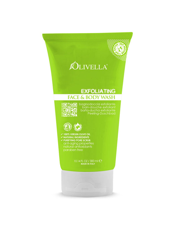 Olivella Exfoliating Body Wash 10.14 Oz - Olivella