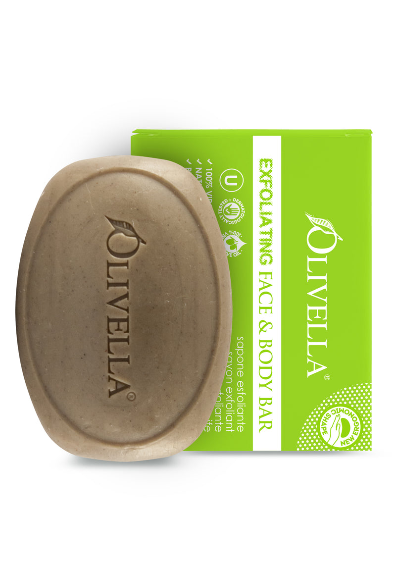 Olivella Exfoliating Bar Soap 5.29 Oz - Olivella