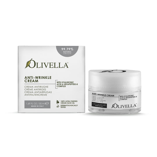 Olivella Anti-Wrinkle Cream 1.69 Oz - Olivella