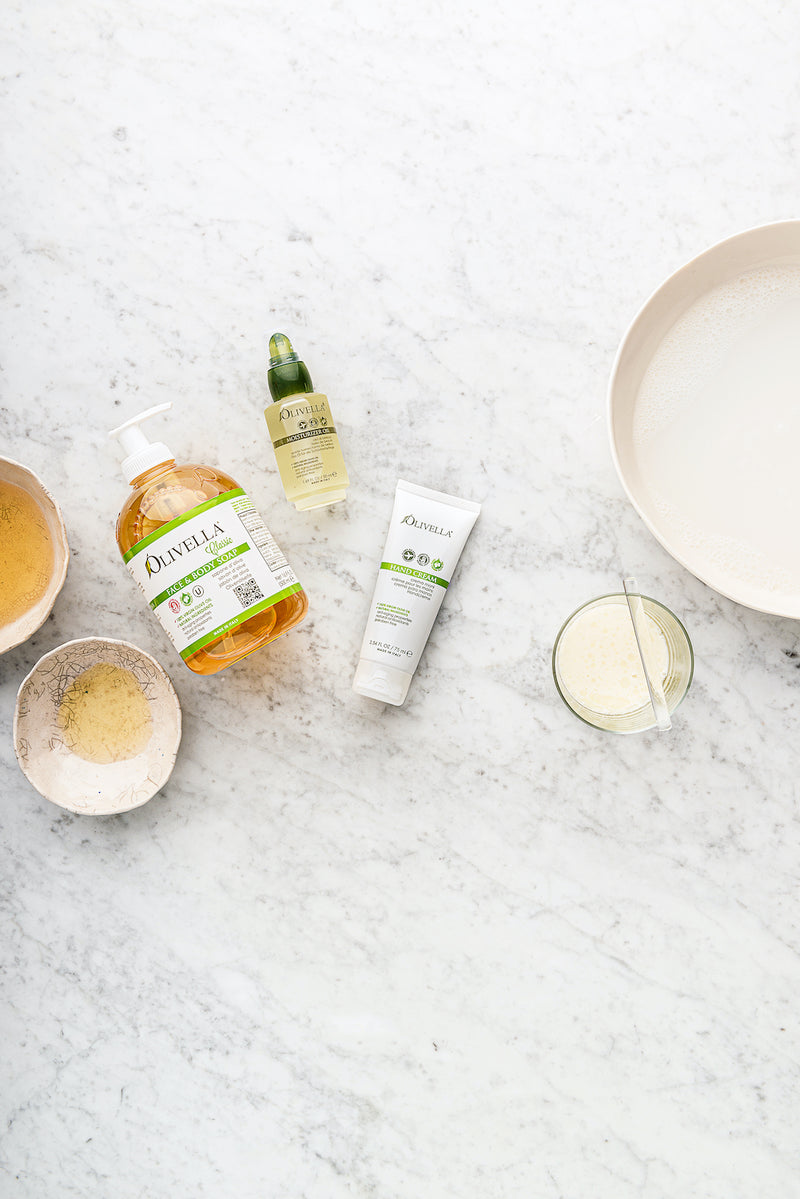 Moisturizing Set - At Home Spa - Olivella Official Store