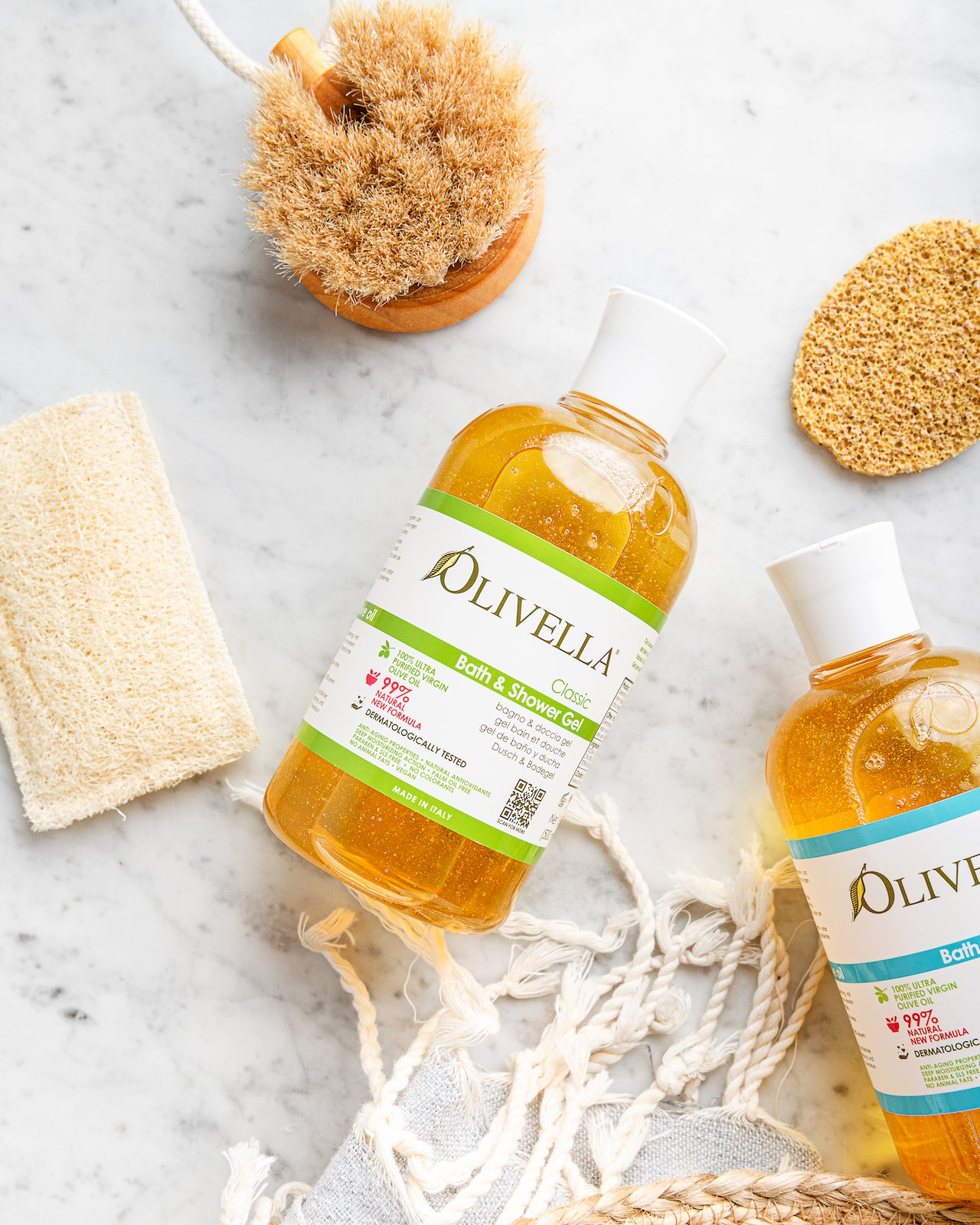 Olivella Bath & Shower Gel - Classic 16.9 Oz - Olivella Official Store