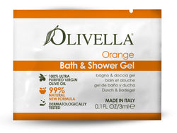 Olivella Shower Gel Orange - Sample - Olivella Official Store