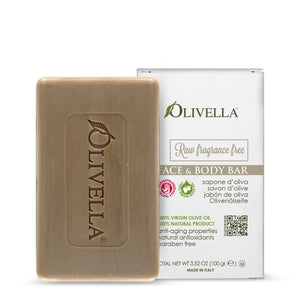 Olivella Fragrance Free Bar Soap 3.52 Oz