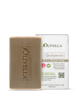 Olivella Fragrance Free Bar Soap 3.52 Oz - Olivella