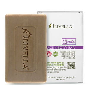 Olivella Bar Soap Lavender 5.29 Oz