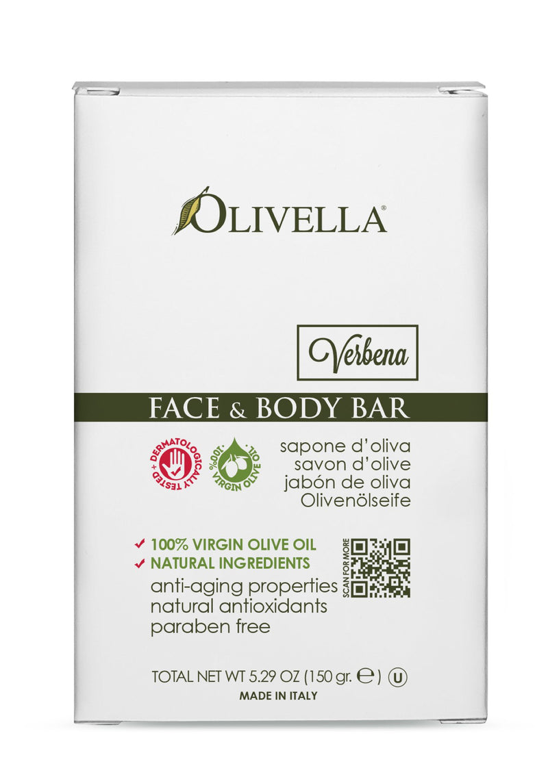 Olivella Bar Soap Verbena 5.29 Oz - Olivella