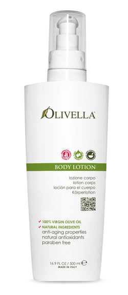 Olivella Body Lotion Pump 16.9 Oz - Olivella