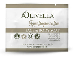 Raw Fragrance Free Liquid Soap Sample - Olivella Official Store