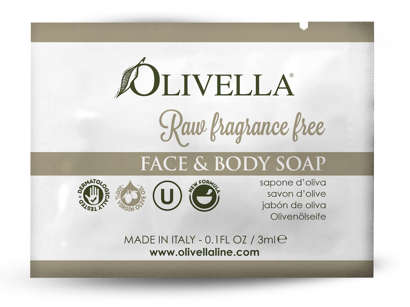 Olivella Raw Fragrance Free Liquid Soap Sample - Olivella Official Store
