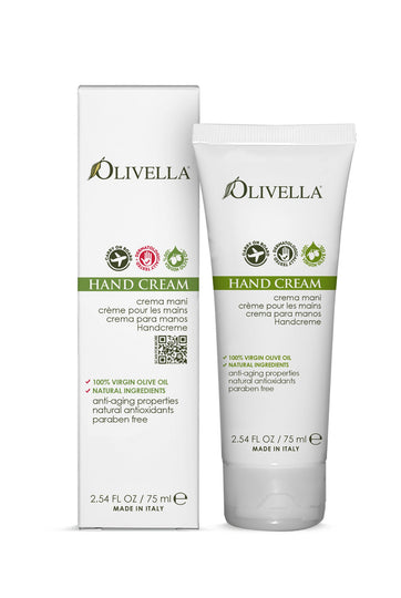 Olivella Hand Cream 2.54 Oz - Olivella Official Store