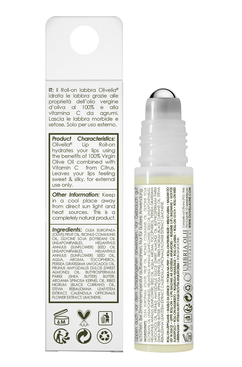 Olivella Lip Roll-On with Limoncello 0.33 Oz - Olivella Official Store