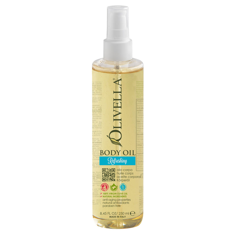 Olivella Body Oil - Refreshing 8.45 Oz - Olivella Official Store