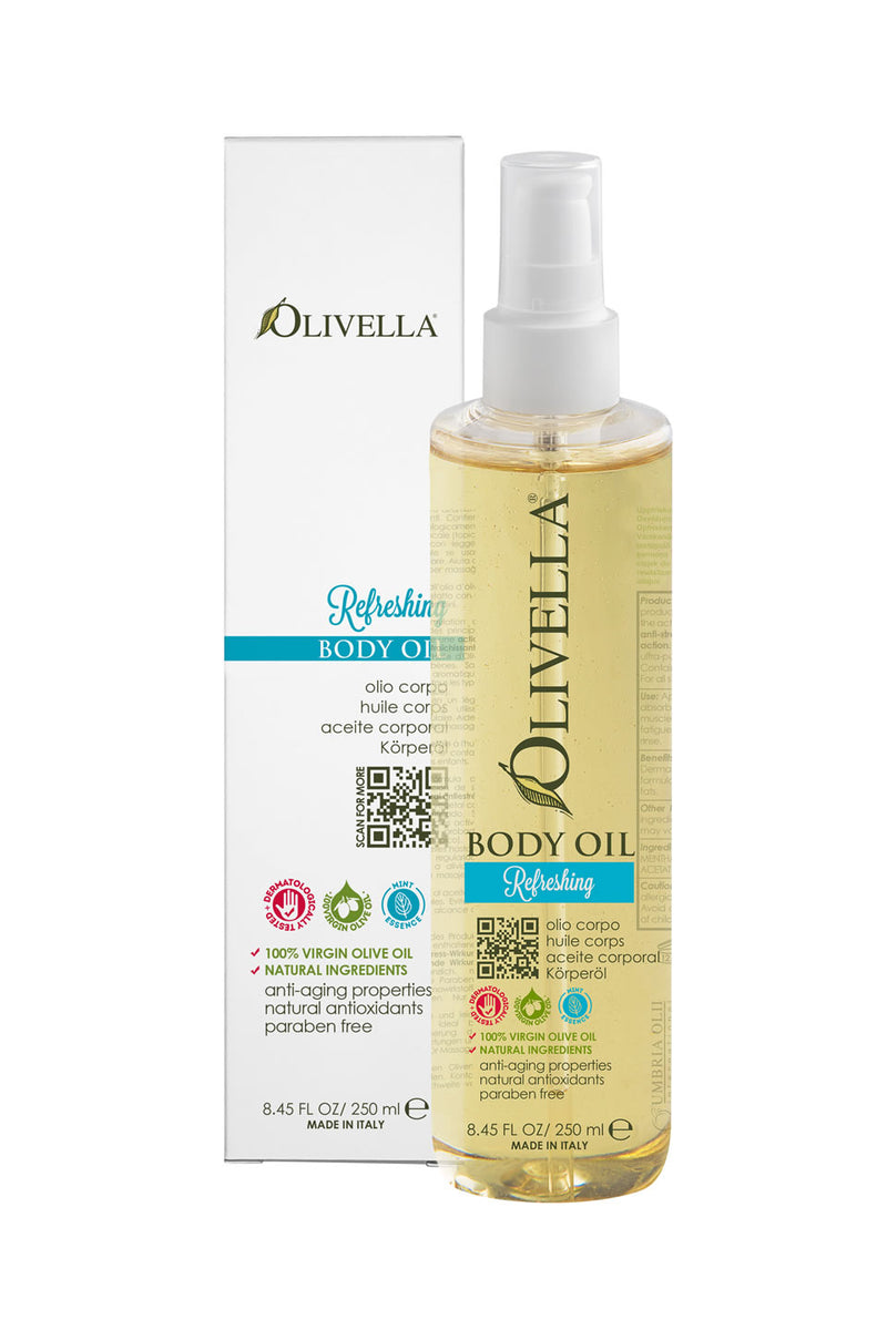 Olivella Body Oil - Refreshing 8.45 Oz - Olivella