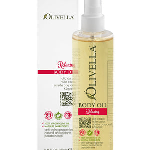 Olivella Body Oil - Relaxing 8.45 Oz