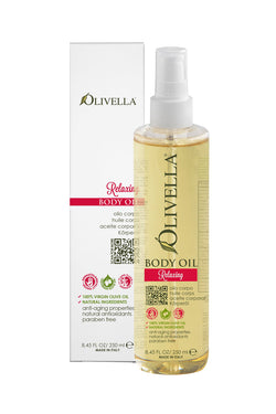 Olivella Body Oil - Relaxing 8.45 Oz - Olivella