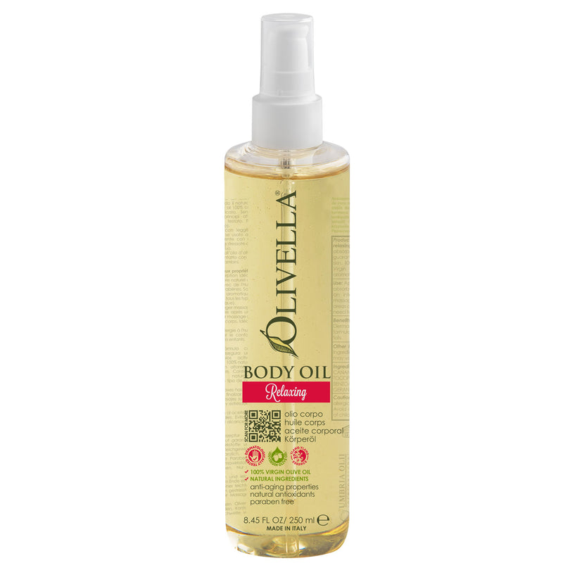 Olivella Body Oil - Relaxing 8.45 Oz - Olivella Official Store