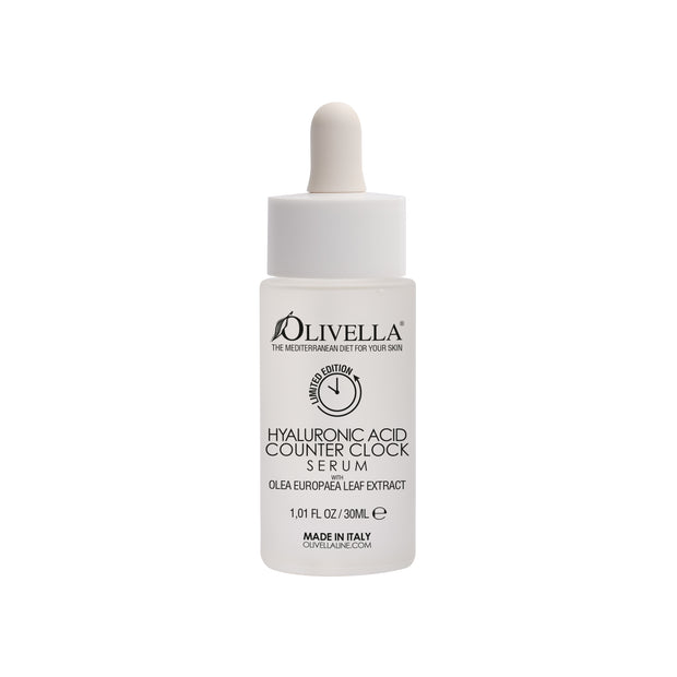 Olivella Counter Clock Hyaluronic Face Serum 1.01 Oz 1