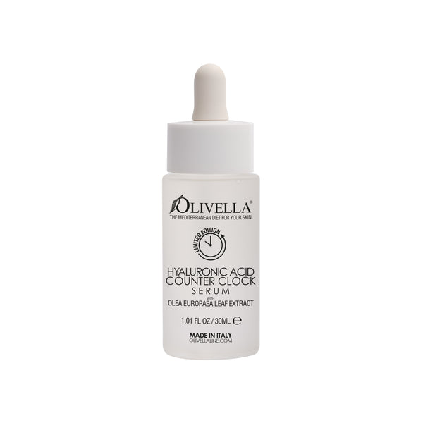 Olivella Counter Clock Hyaluronic Face Serum 1.01 Oz - Olivella
