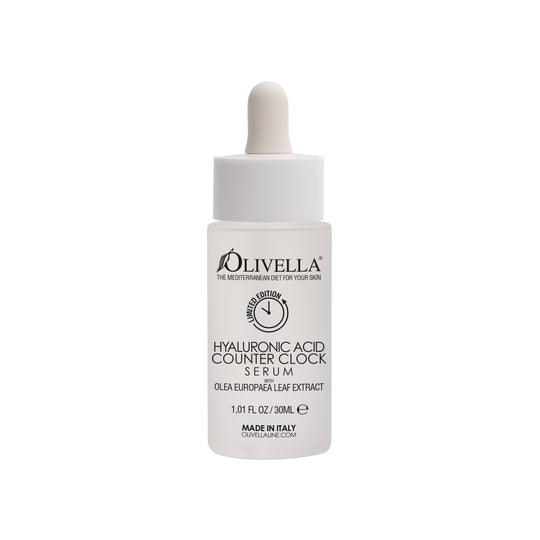 Olivella Counter Clock Hyaluronic Face Serum 1.01 Oz - Olivella Official Store
