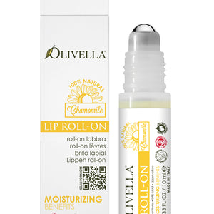 Olivella Lip Roll-On with Chamomile 0.33 Oz