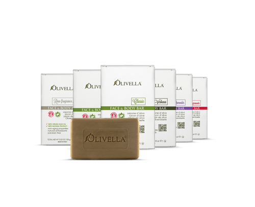 Olivella Bar Soaps made from Ultra Purified Olive Oil